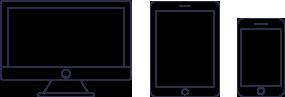 Une interface intuitive directement sur votre ordinateur, téléphone mobile ou tablette